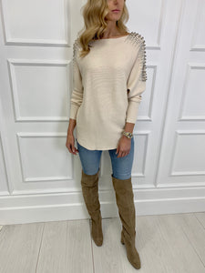 The Evie Embellished Knit