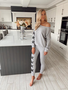 The Star Loungewear In Grey
