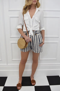 The Heidi Stripe Shorts