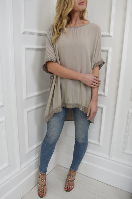 The Jude Top in Mink