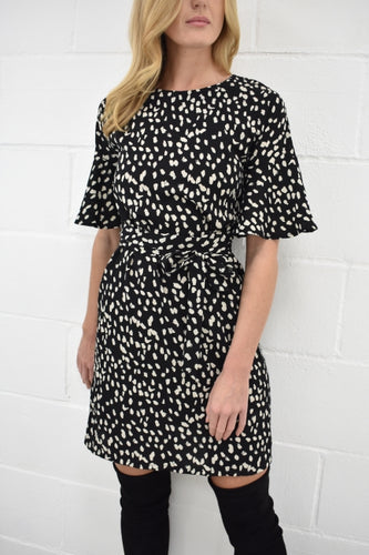 The Patsy Dress in Animal Print