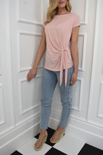Load image into Gallery viewer, The Isla Tie Tee in Blush