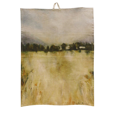 Harvest tea towel