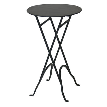 Round Narrow Side Table