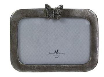 BUTTERFLY PHOTO FRAME HORIZONTAL 6X4""
