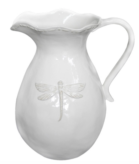 French Country Dragonfly Small Pitcher