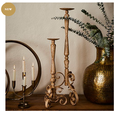 JACQUELINE CANDLESTICK SMALL