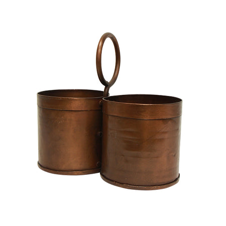 Utensil Holder - Copper