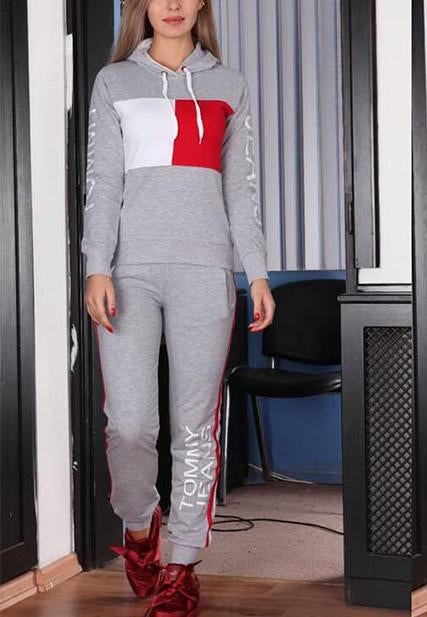 Casual  Long Sleeve Two Piece Sports Suits