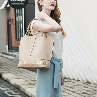 Three-Piece Shoulder Bag
