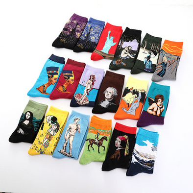 Trend Socks Crazy Painting Series