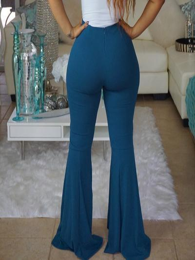 Double Breasted Bell Pants