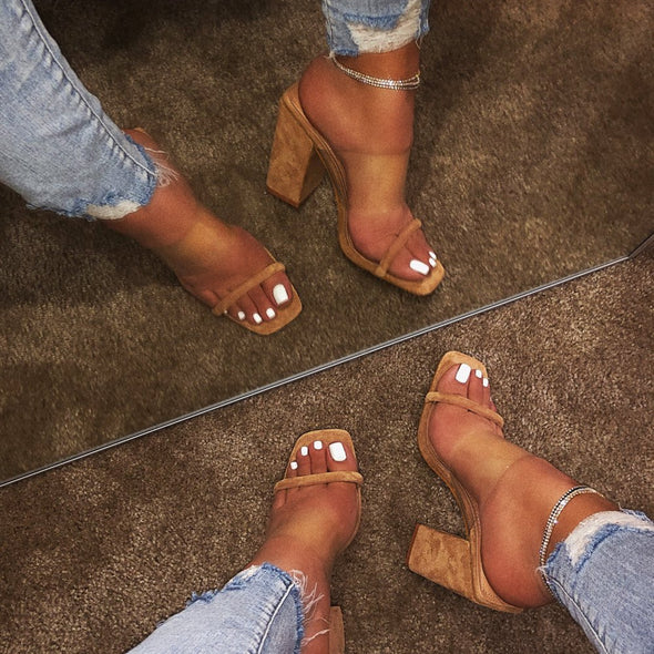 High Heeled Fashion Shoes Sandals