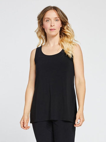 Black Go-To Relax Tank