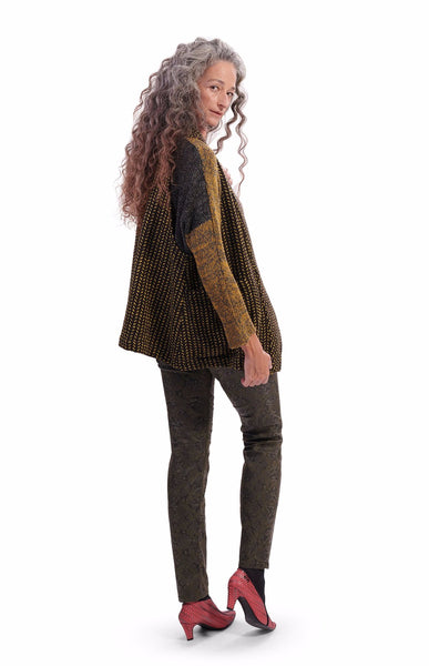 Honey Tweed Vest