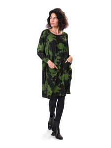 Green Pocket Dress