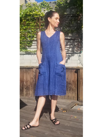 Linen Thea Pocket Dress