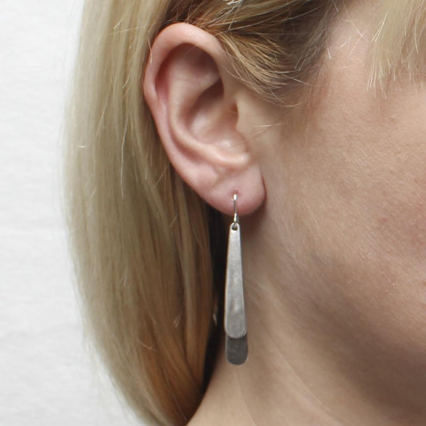 Layered Tapers Earring