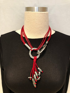 Leather Convertible Necklace
