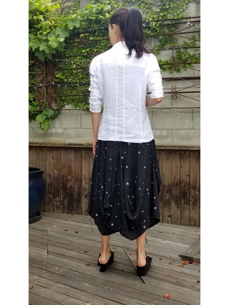 Black & White Dot Magic Skirt