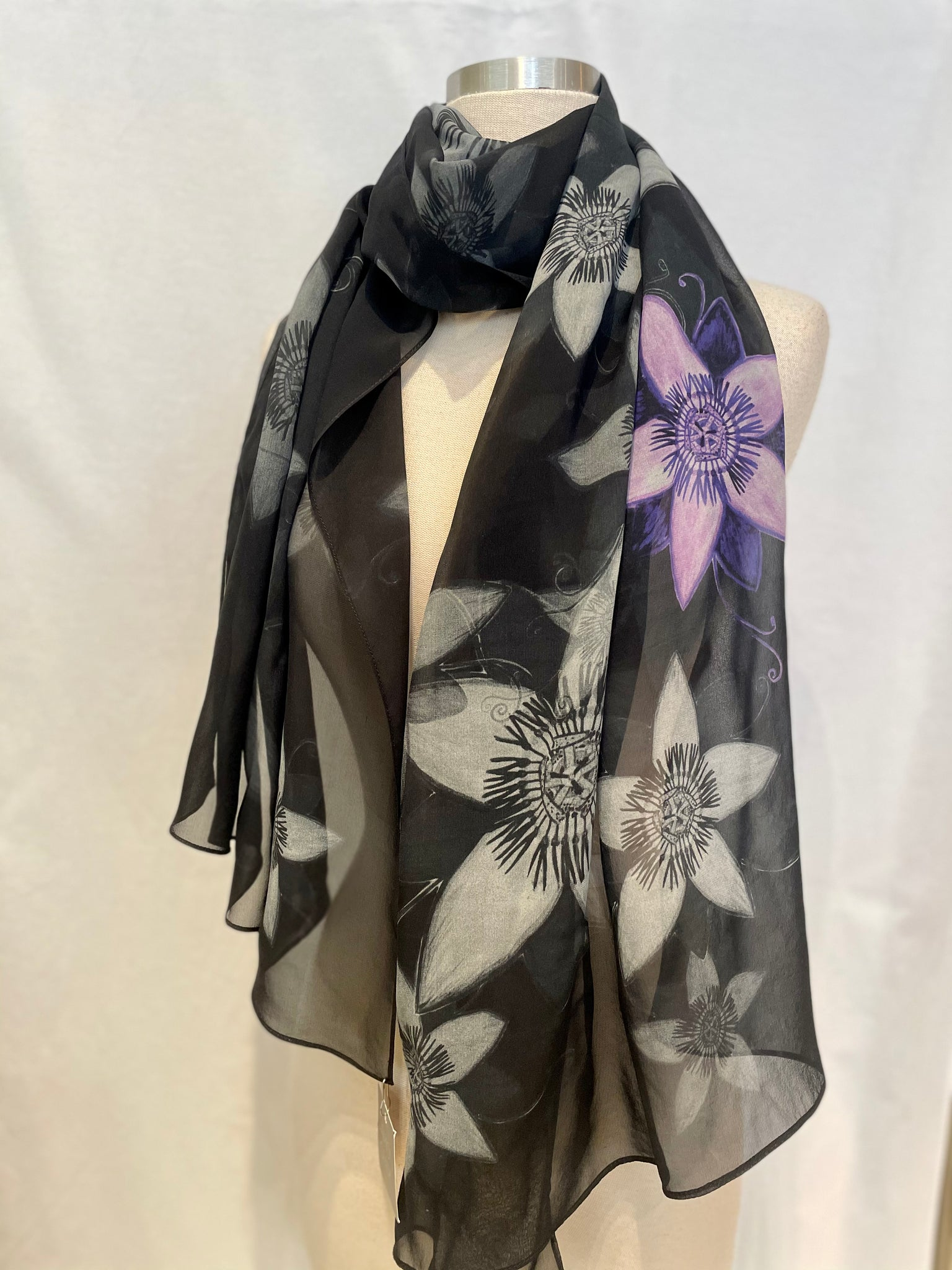 Passionfruit Silk Scarf