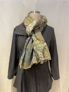 "French Double-Woven Scarf ""Angelina"""