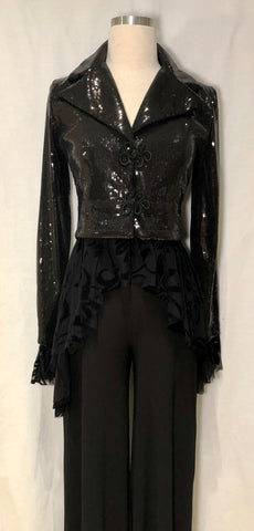 Sequin & Lace Jacket