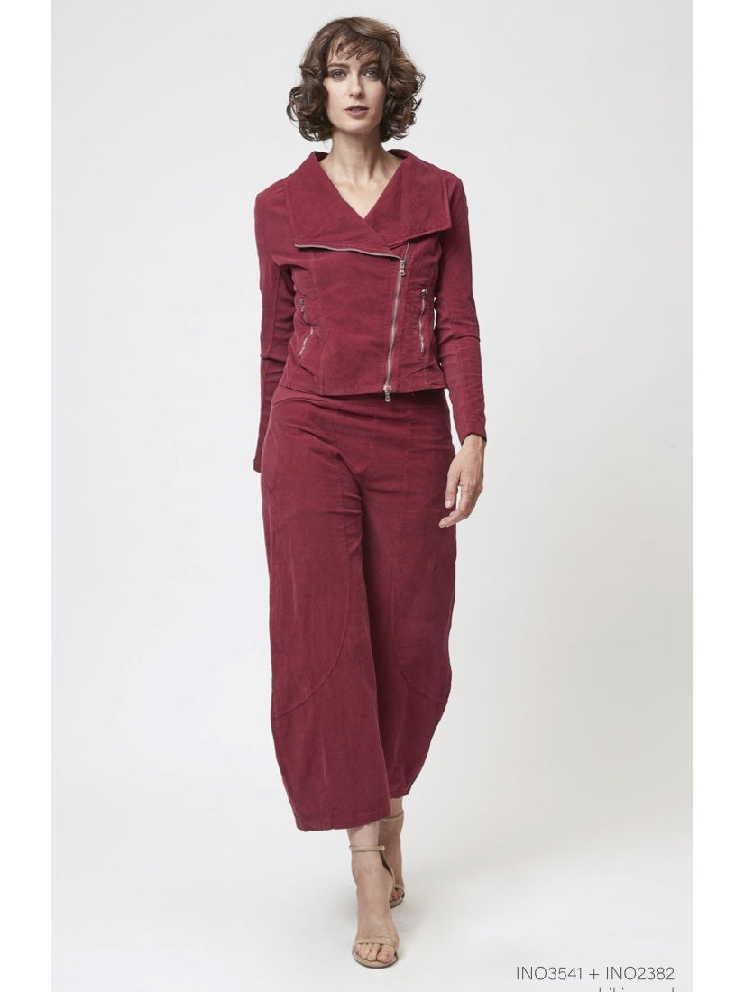 Stretch Cord Red Pant