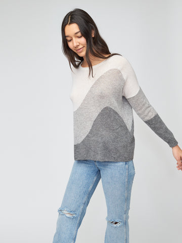 Waves Cashmere Pullover