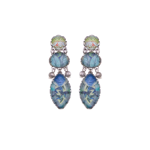 Blue Paradise Earrings