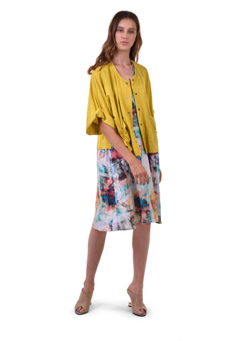The Shayna Lemon Cardigan