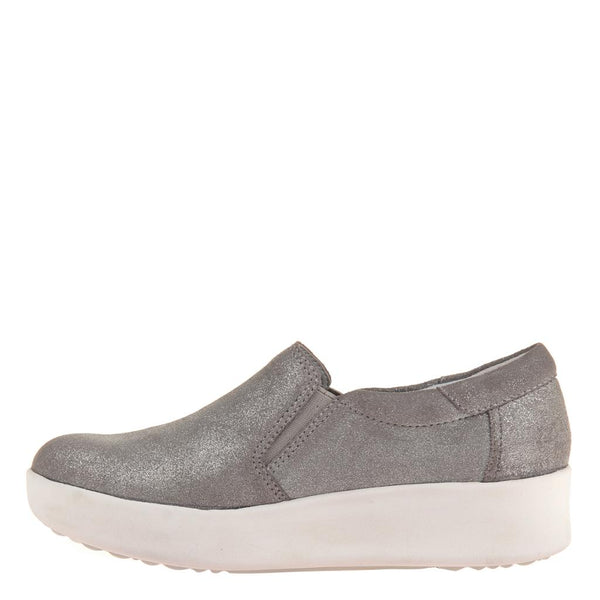 CAMILE in GREY SILVER, left view