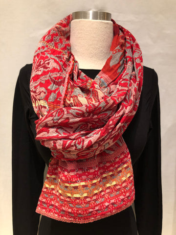 "French Double-Woven Scarf ""Maurice"""