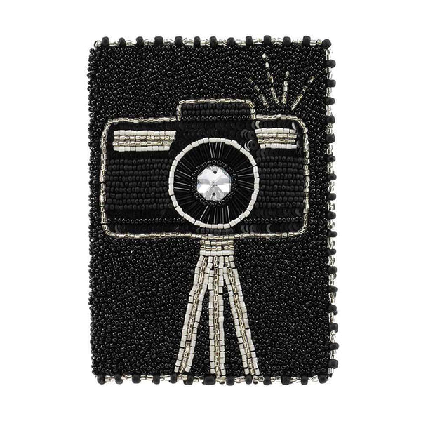 Smile! Beaded Passport Cover