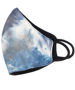 Blue Immersion Reversible Stretch Face Mask