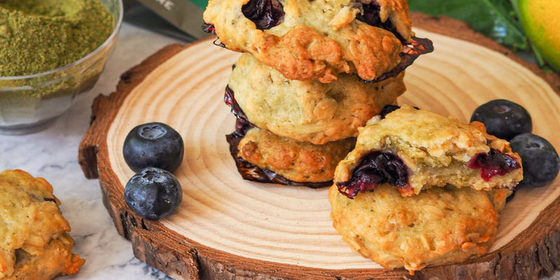 Lemon & Blueberry Cookies