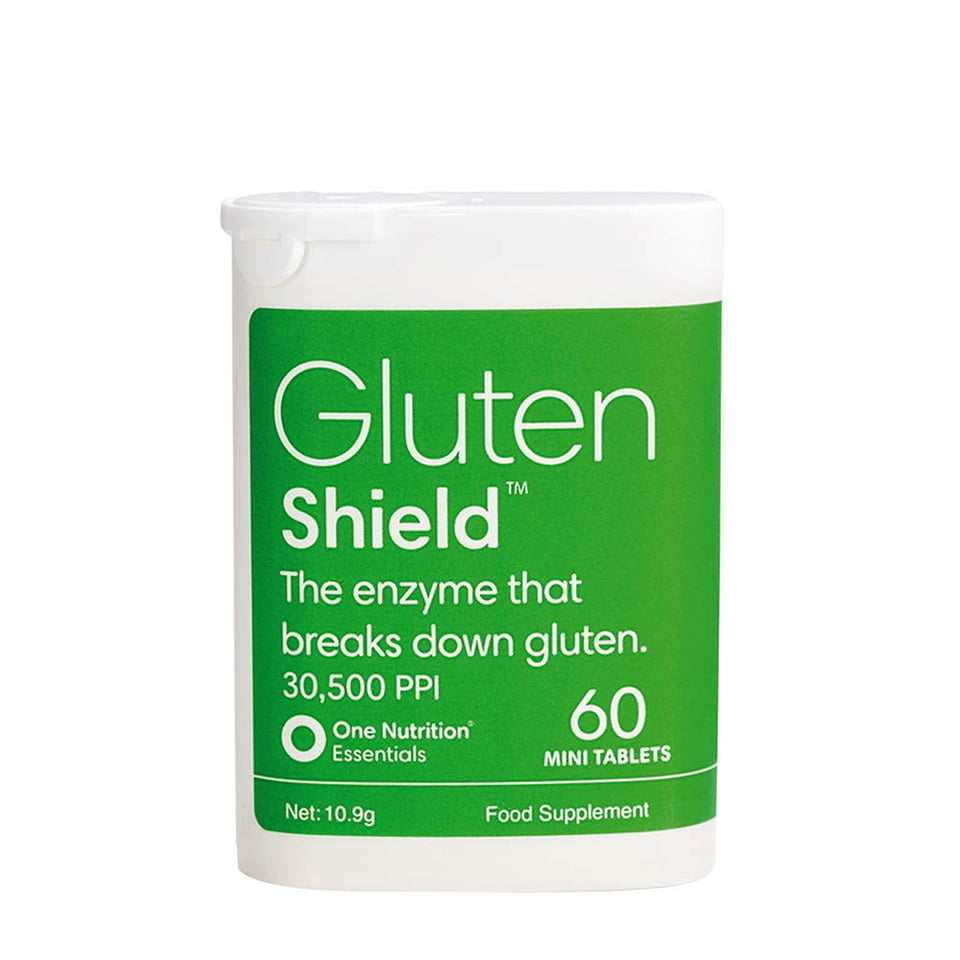 One Nutrition Essentials Gluten Shield 60s - 50% Off Reduced to Clear short shelf life
