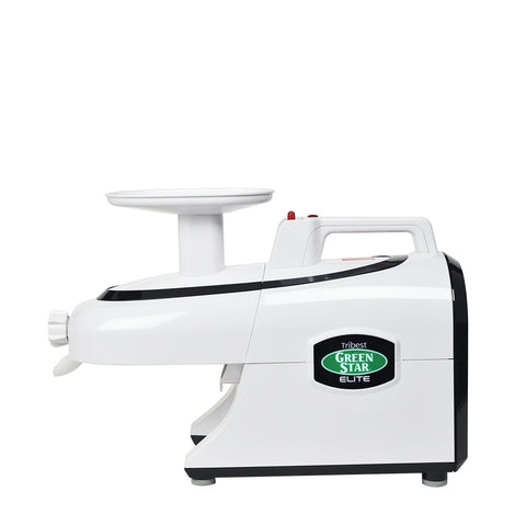 Greenstar Elite Jumbo Twin Gear Complete Masticating Juicer - White