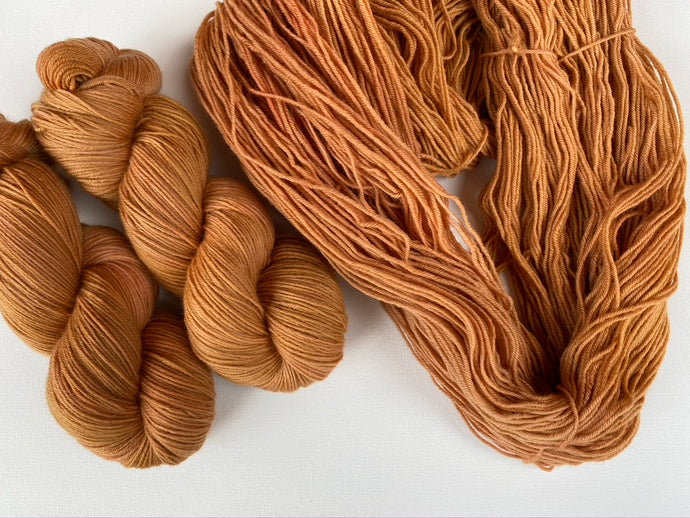 Sustainable Merino fingering- 'Rooibos' colourway