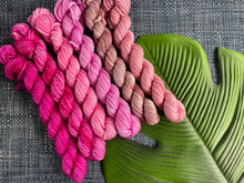 Load image into Gallery viewer, 'Roses' Mini skein set - 6x20g DK sock yarn