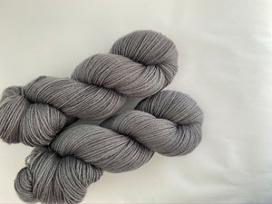 Sustainable Merino fingering- 'All grey' colourway