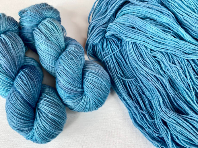 Sustainable Merino fingering- 'Marlin' colourway