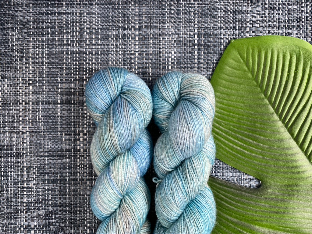 Dreamy merino silk - 'Lamington Crayfish' colourway
