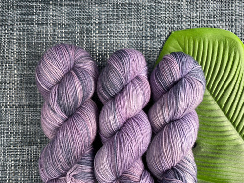 Delicious sock yarn 'Lavandula' colourway
