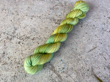 Load image into Gallery viewer, 'Spring green' mini skein  - 20g sock yarn Spring flower collection