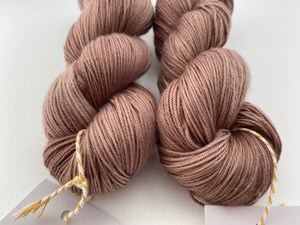 Delicious sock 'Hot potato' colourway