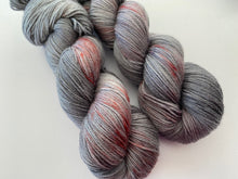 Load image into Gallery viewer, Dandy sock- 'Vampire love' colourway
