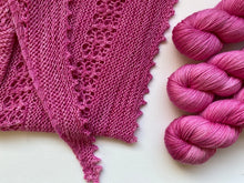 Load image into Gallery viewer, Dreamy merino silk - 'Pink Rock Orchid' colourway