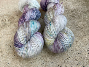 Dandy sock- 'Gemstones' colourway