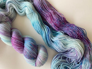 Delicious sock 'Sweet dreams' colourway